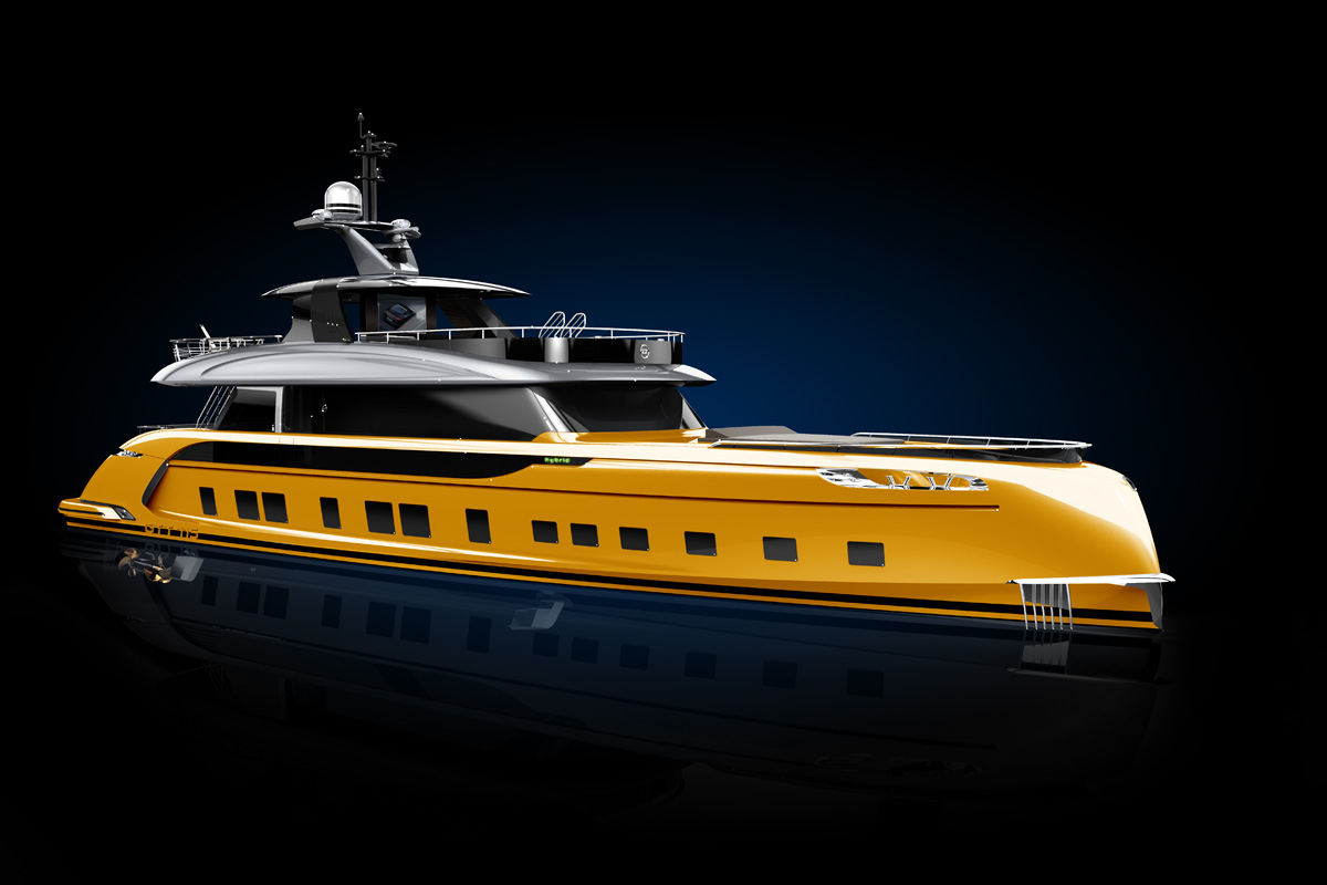 Porsche Design Penned This Sixteen Million Dollar Yacht