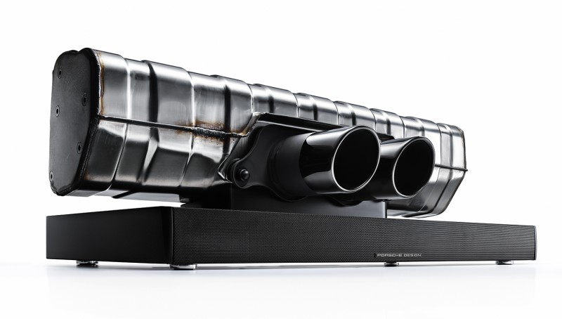 Porsche Design's 911 Soundbar Pumps Out Powerful Sounds From its Pipes