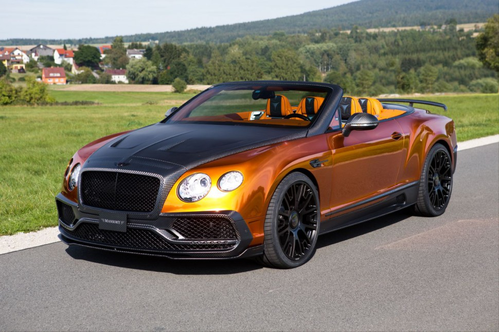 This 1,000+ HP Bentley is the Most Insane Cabriolet Ever