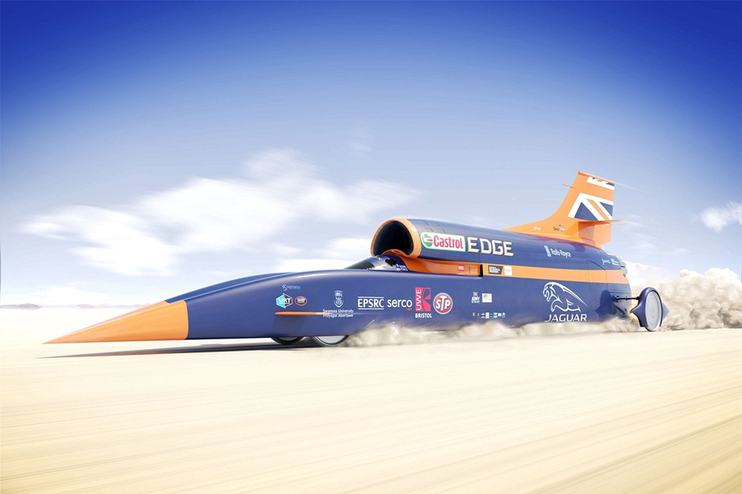 This is the World's First 1000mph Car