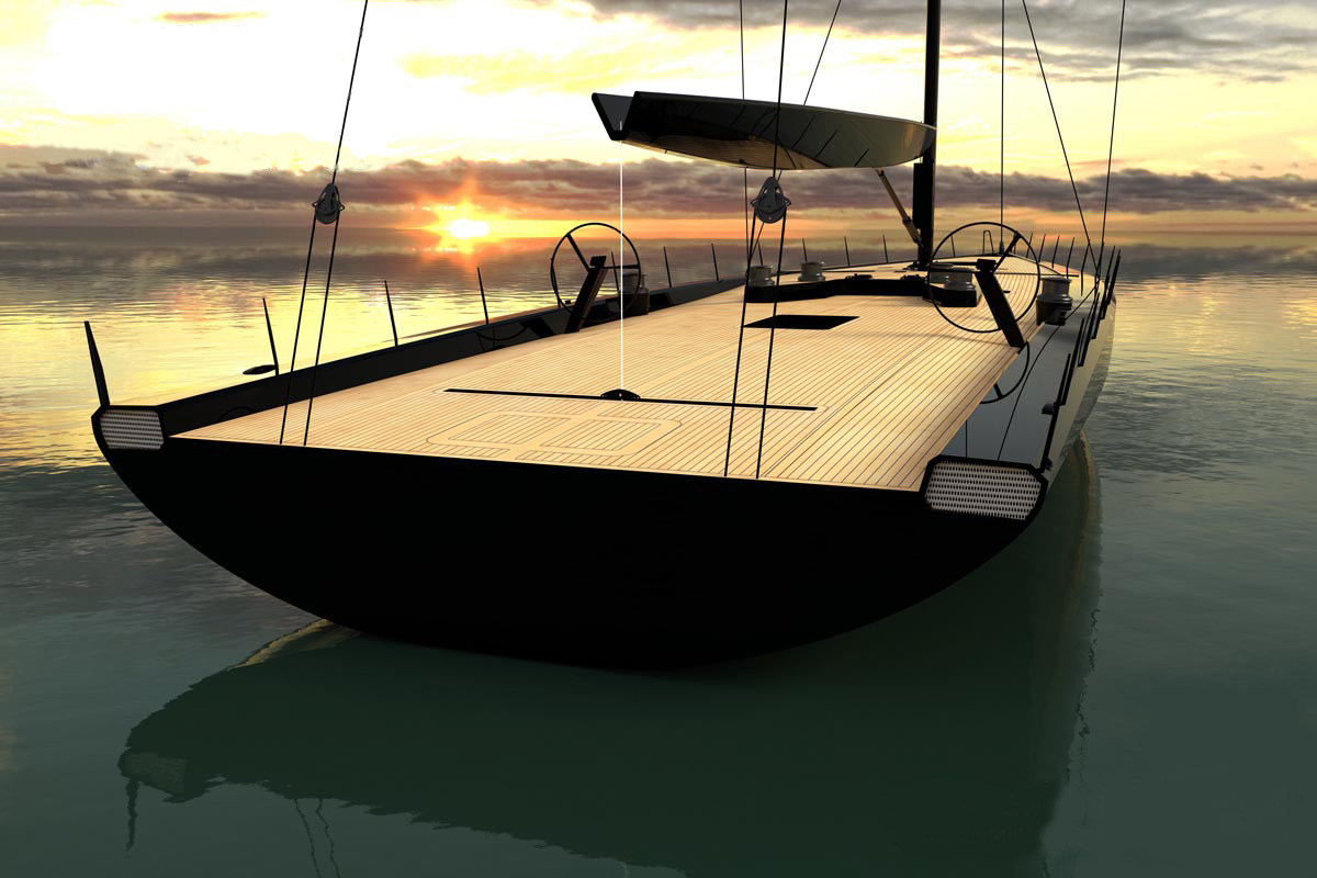 This Gorgeous Race Yacht is Worthy of This Stunning Pininfarina Interior Design
