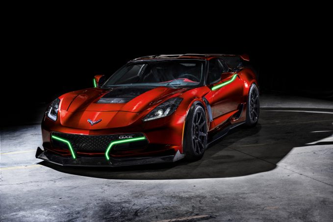 Corvette-Based Electric Supercar Has More than 800 HP