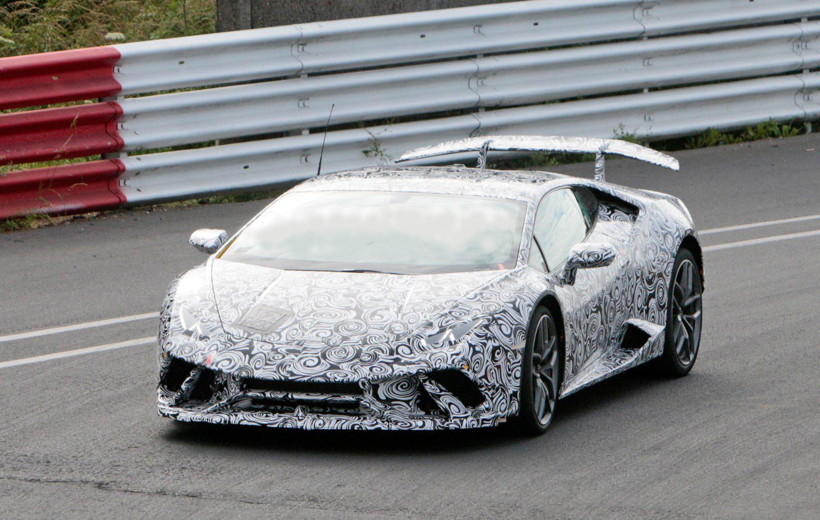 Lamborghini Huracan Superleggera Spied with Ultra Aggressive Styling