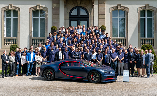 There are Already 100 Bugatti Chirons in the World