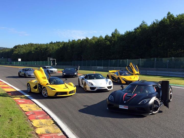 Supercar Meet-Ups Don't Get Any More Epic Than This!
