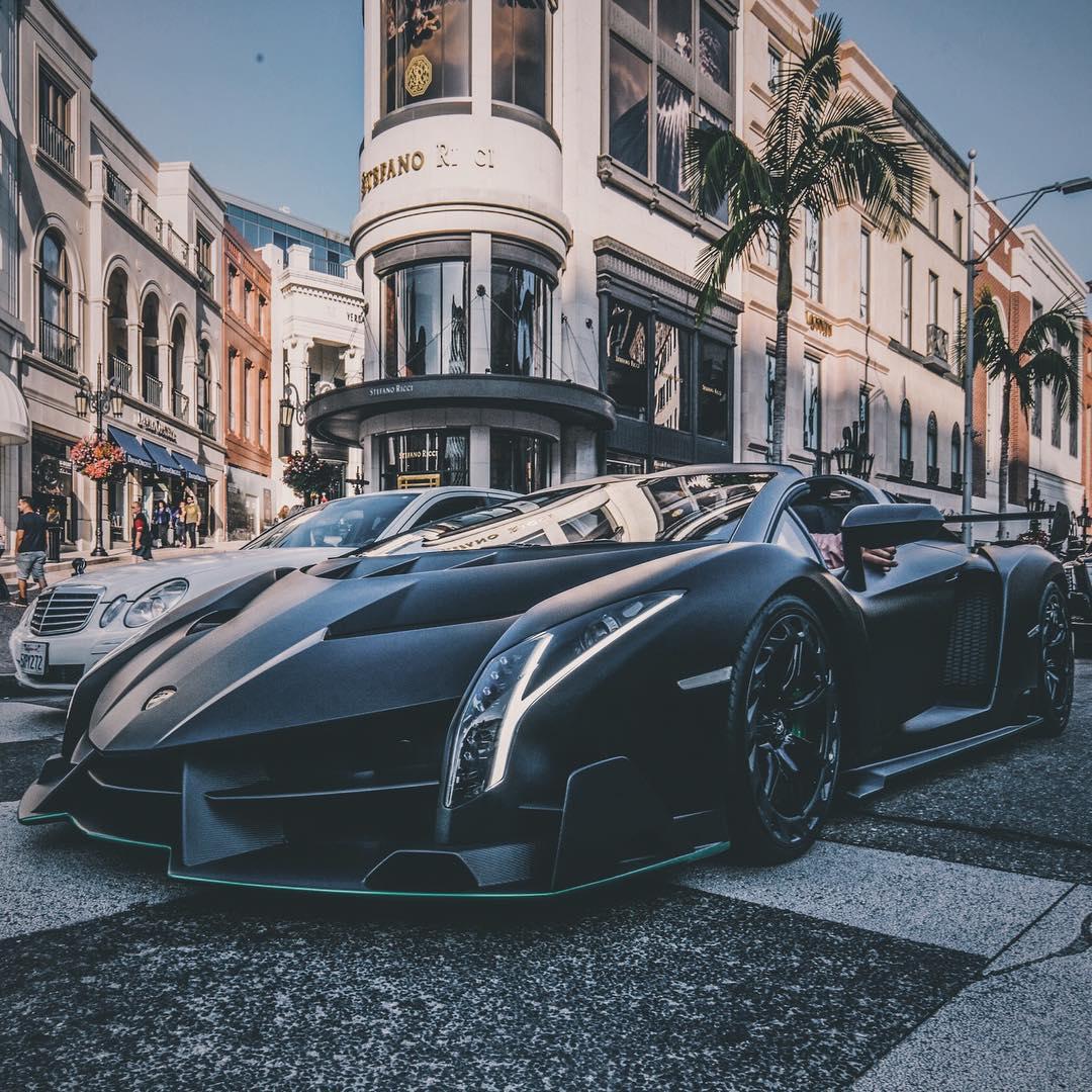 A $4.5 Million Lamborghini Veneno Hit The Streets Of L.A