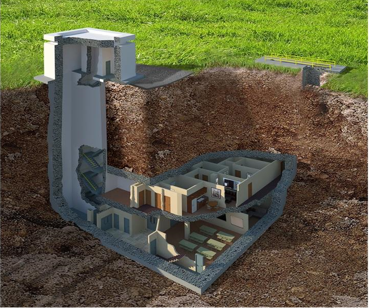 This Luxurious Underground $17.5M Doomsday Bunker Will Blow Your Mind