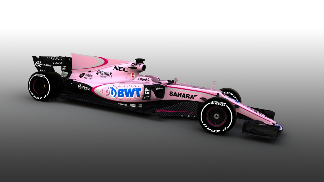 Formula One Needs More Pink Things