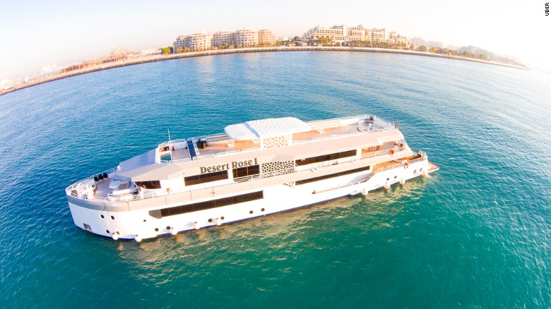 UberYACHT Set to Launch in Dubai—And It's Uber Luxurious