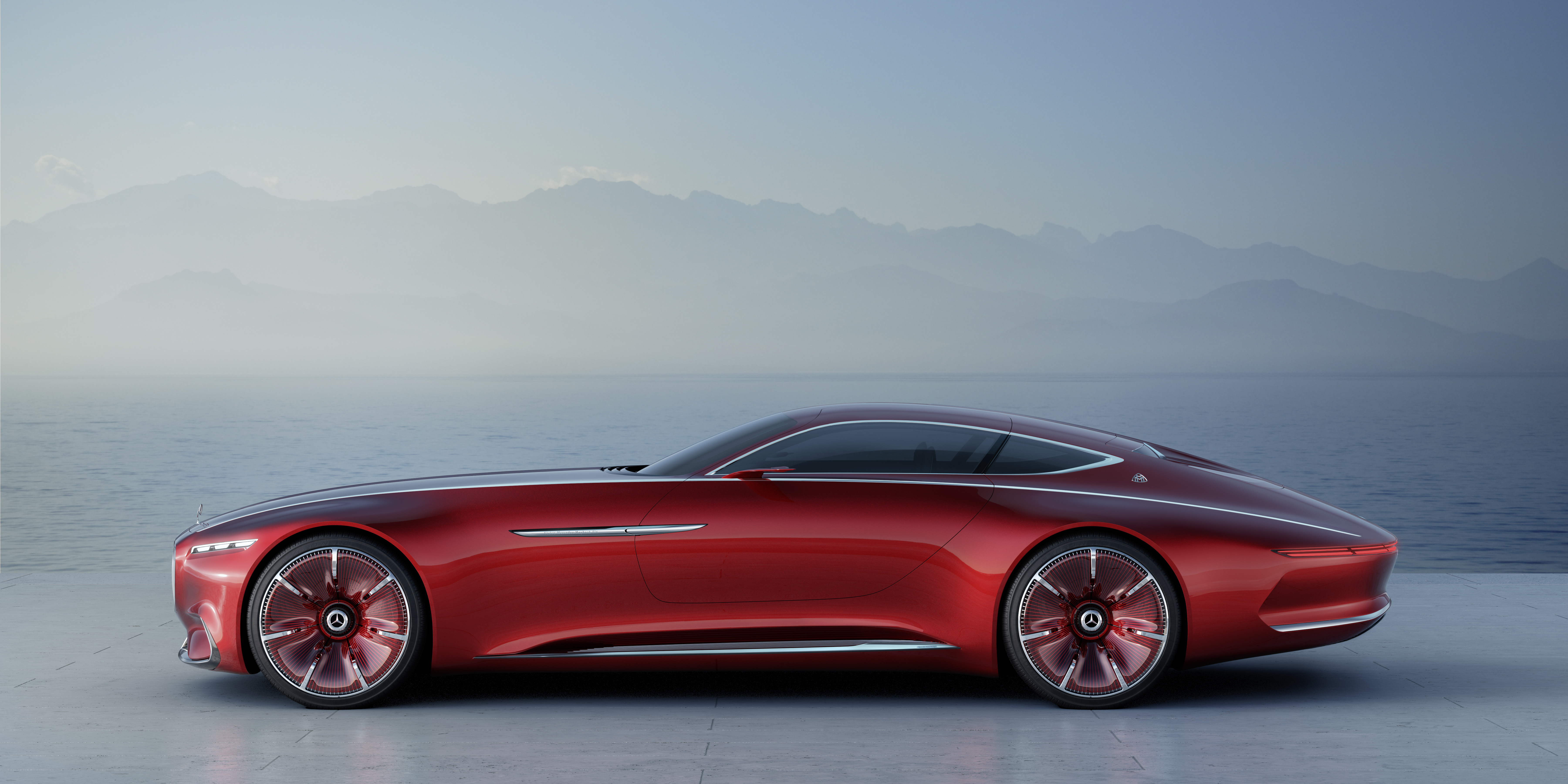 The Mercedes-Maybach 6 is Electric Luxury at its Finest