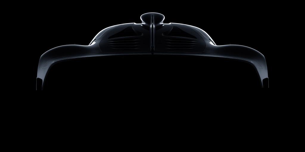 Mercedes-AMG hypercar Designskizze