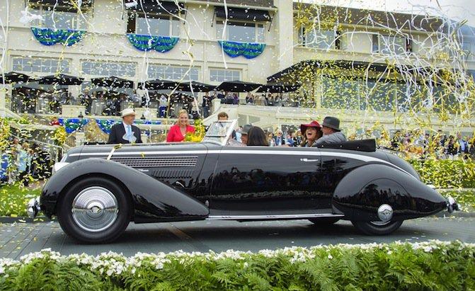 1936 Lancia Astura Pininfarina Captures Top Honors at Pebble Beach Concours d'Elegance