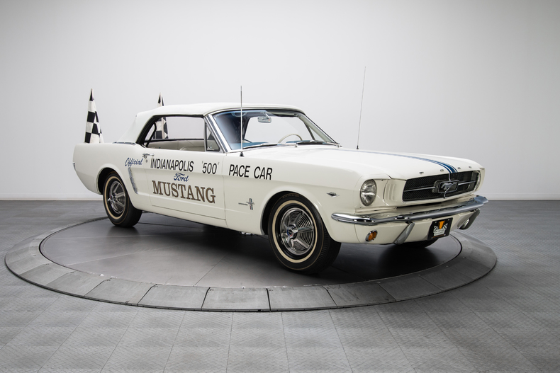 This is the Next Million-Dollar Mustang—And It's From the 1964 Indy 500