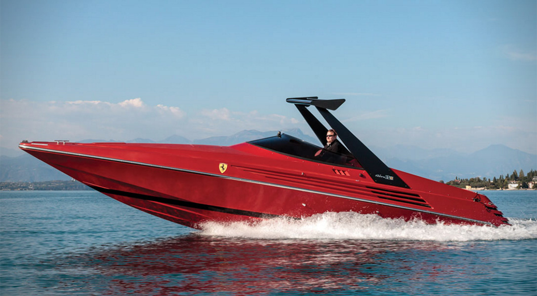 This Ultra-Rare Ferrari Speedboat Lets You Drive On the Water