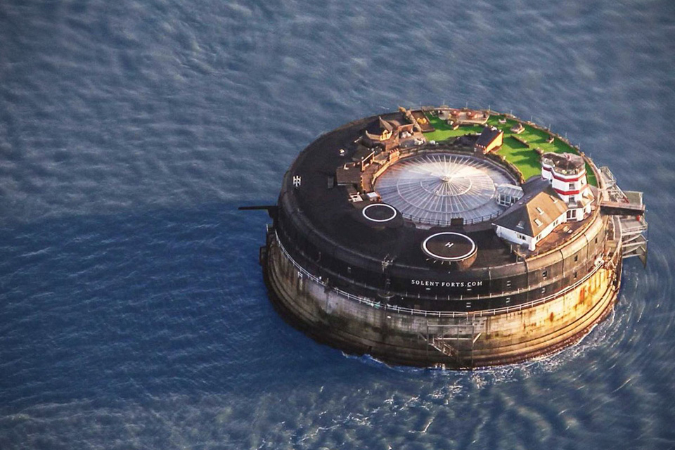Someone Converted a 19th Century Sea Fort Into This Unique Luxury Hotel