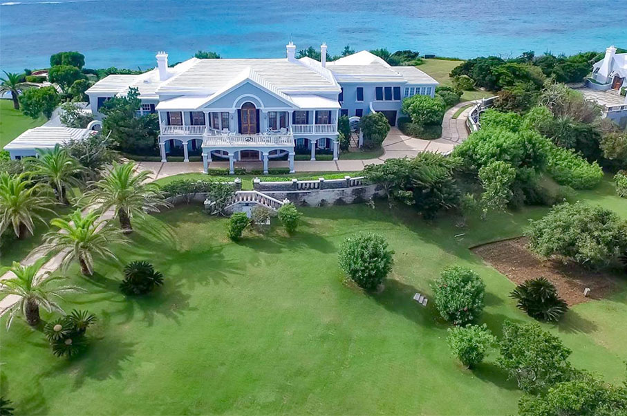 This $23 Million Bermuda Mansion Still Holds Its Old-Timey Charm