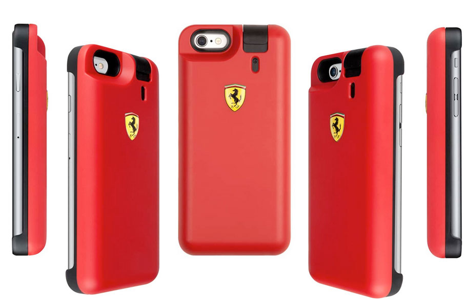 This New Ferrari iPhone Case Makes You Look and Smell Good