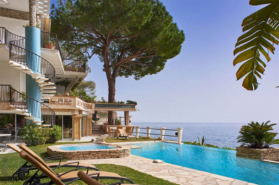 Live In The Mountains In This Luxury Monaco Villa
