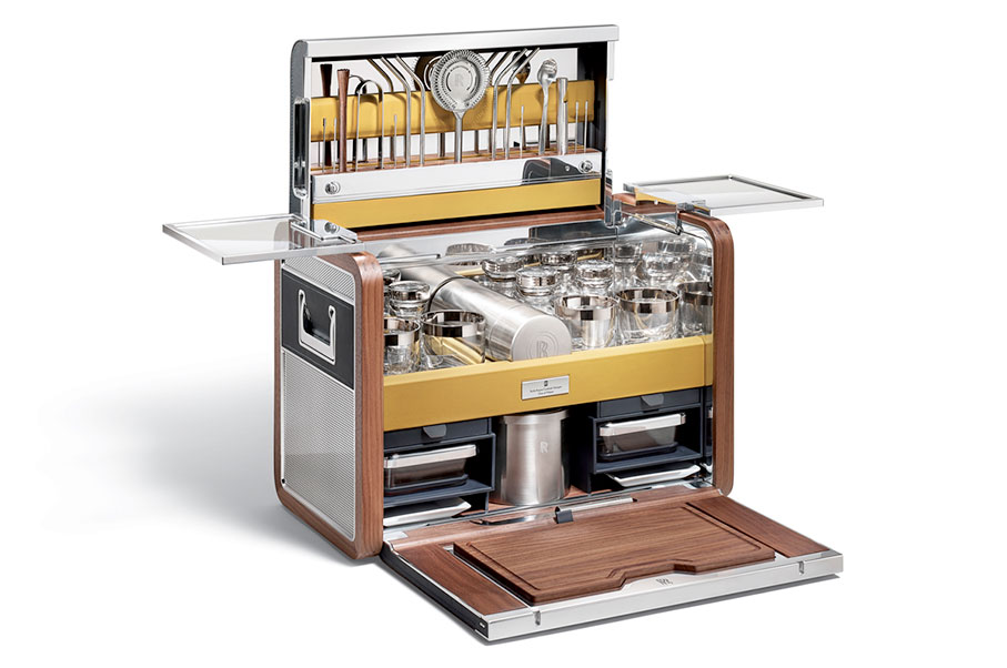 This Rolls-Royce Cocktail Hamper Bar Costs as Much as Three Cars