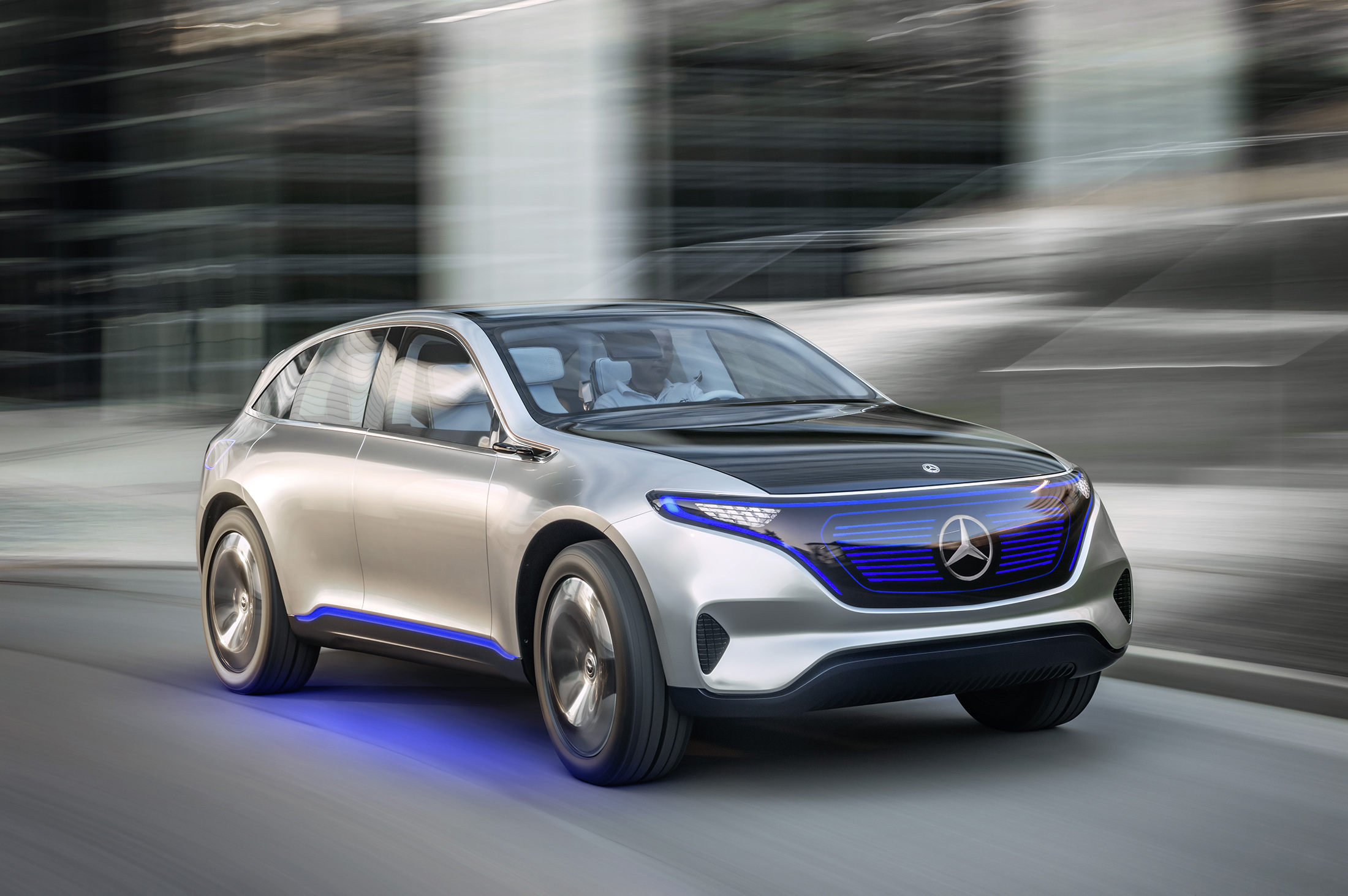 Mercedes-Benz's Generation EQ Teases Its Electric Sub-brand