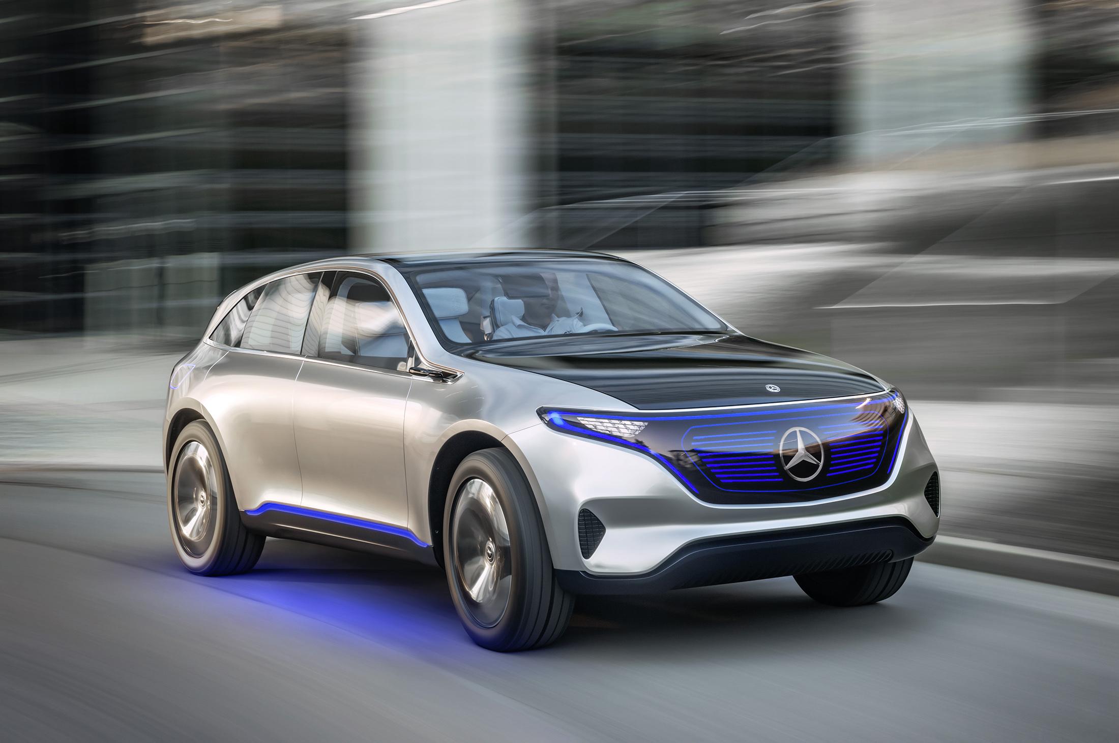 Mercedes-Benz's Generation EQ Teases Its Electric Sub-brand