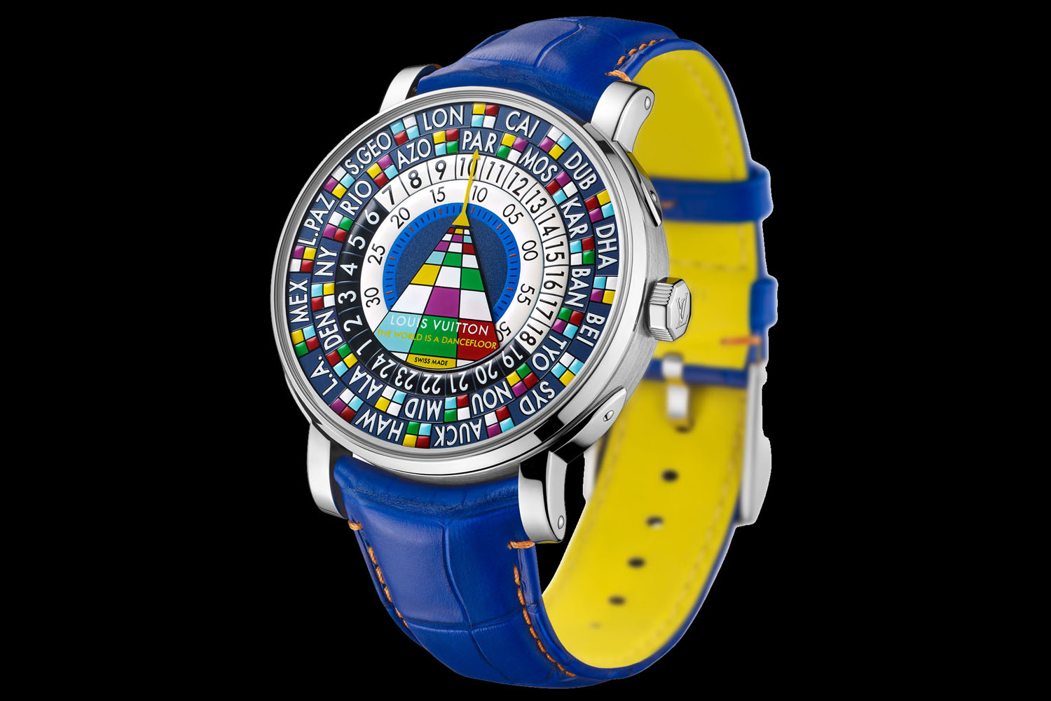 This Louis Vuitton Wristwatch is Gaudy, Confusing and Absolutely Spectacular