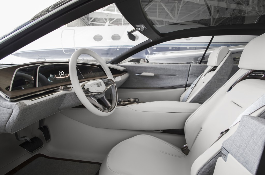 The Cadillac Escala has the Interior of a Bespoke Manhattan Suit