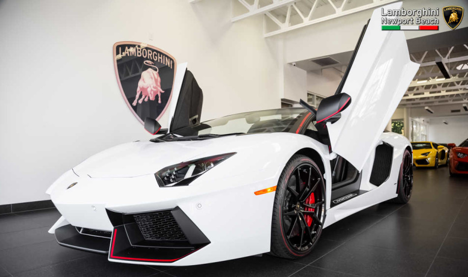 You Have to See This Stunning 2016 Lamborghini Aventador Roadster Pirelli Edition