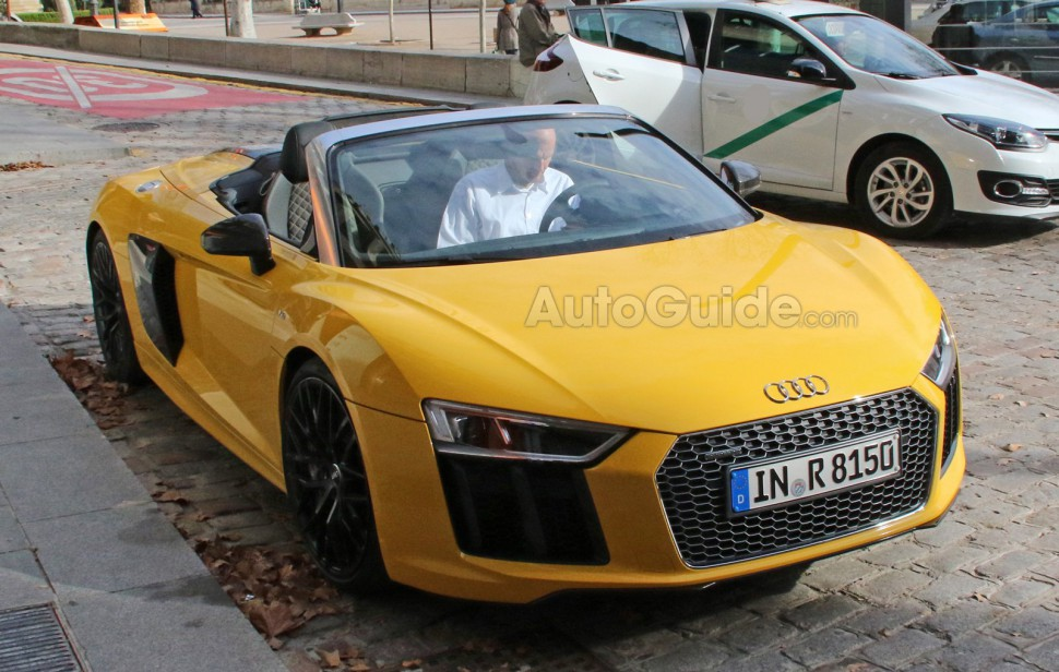 Audi Leaks the R8 Spyder Accidentally on Purpose