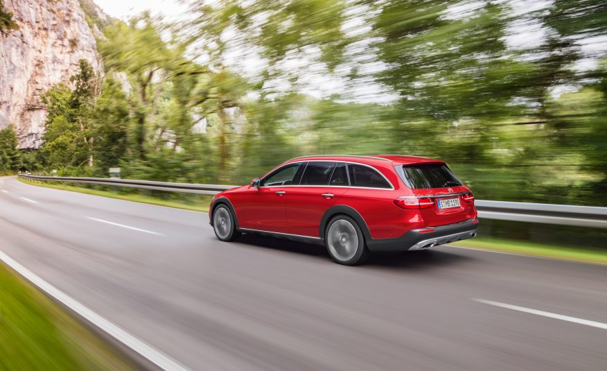 2018 Mercedes E-Class All-Terrain is Dressed for Adventure