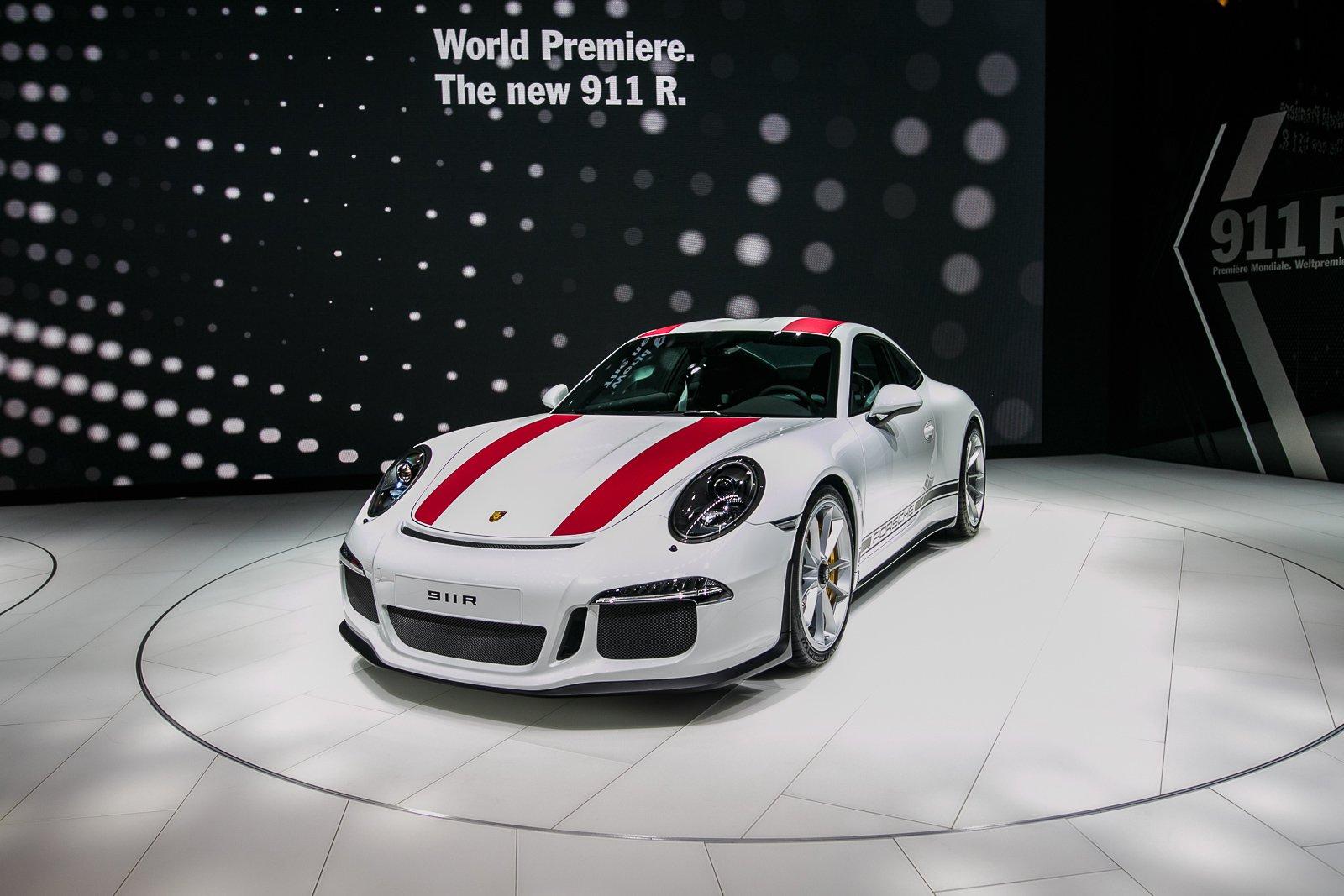 FFS: Porsche Says Drive Your 911 R