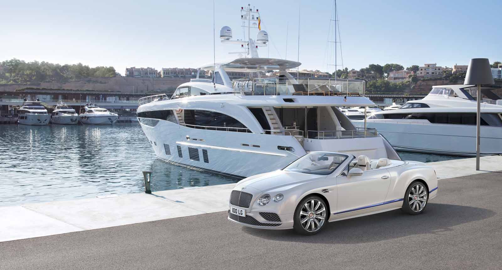 Bentley Continental GT Convertible Galene Edition is a Greek Goddess of Calm Seas