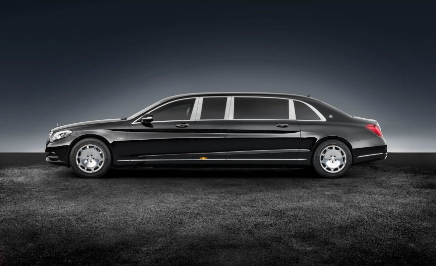 Mercedes-Maybach Wants to Sell You a 21-Foot-Long, 12,000 Pound S600 Pullman Guard