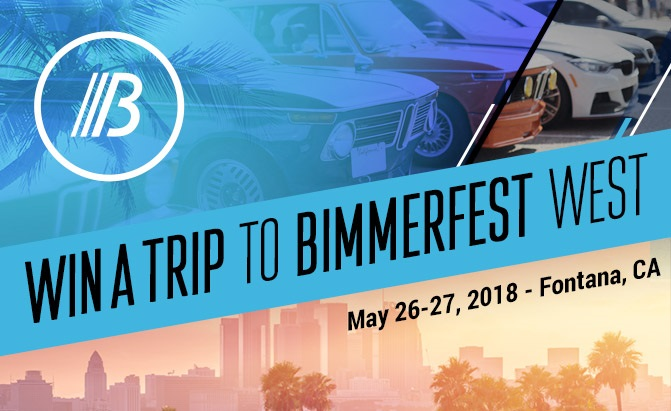 Win a Trip for Two to Bimmerfest 2018 California
