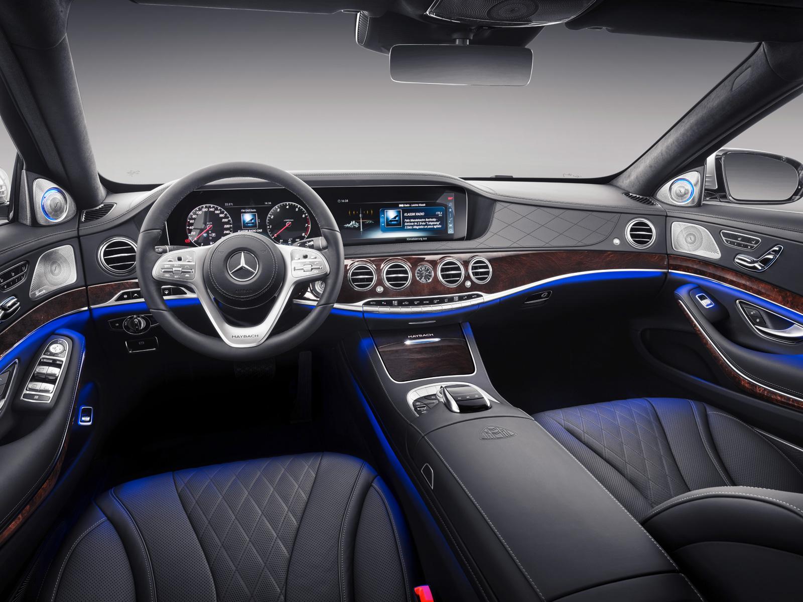 2019 Mercedes-Maybach S-Class Sedan Gets Even Fancier
