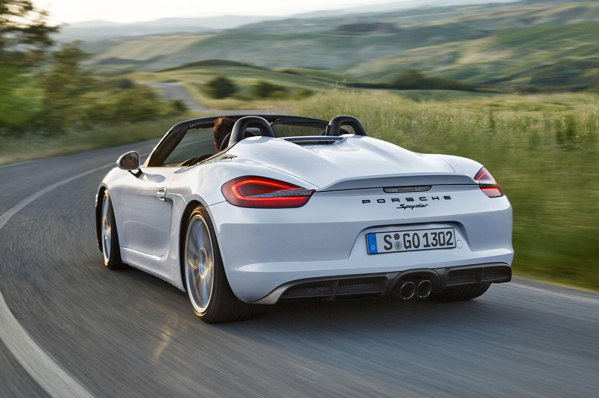 2019 Porsche 718 Boxster Spyder Spied Testing a Flat-Six Engine