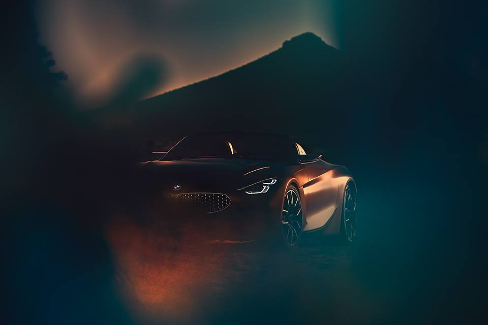 Check Out the New BMW Z4 Concept