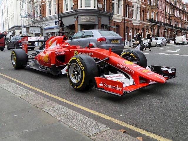 Here's Why a London Dealership Was Just Awarded This Stunning 2015 Ferrari Formula 1 Car