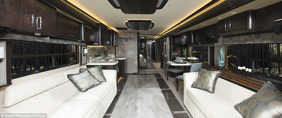 This Awesome $700,000 RV is a Luxury Hotel Suite on Wheels