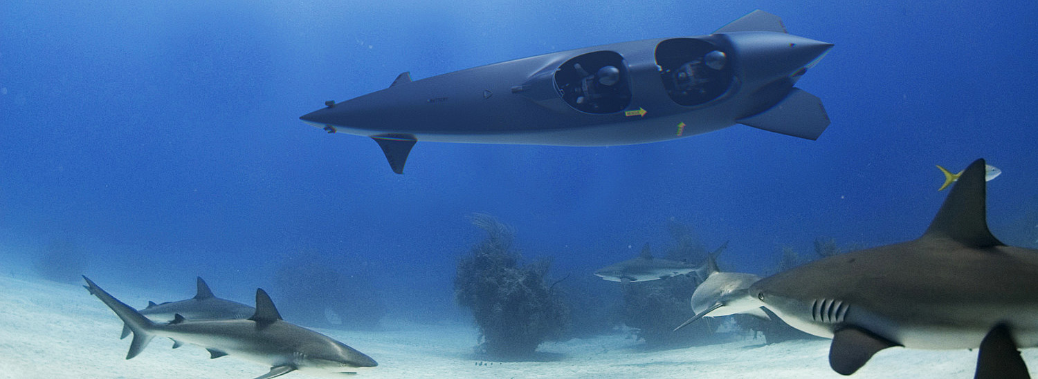 This Unbelievable Shark-Shaped Personal Submarine Would Make James Bond Jealous