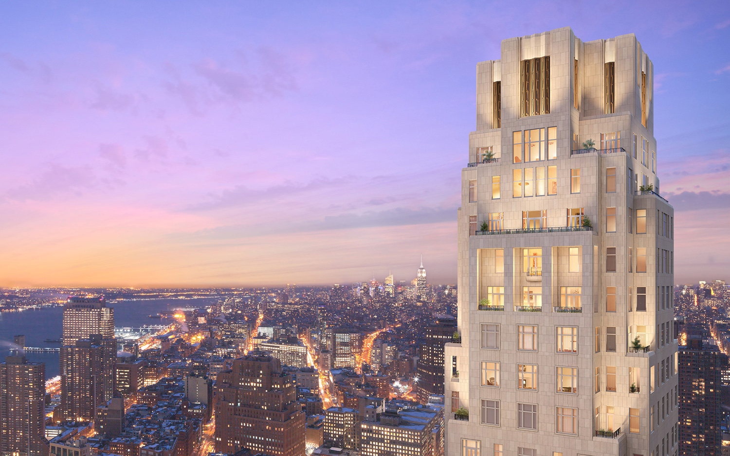 Look Inside New York City's Hottest and Tallest New Address