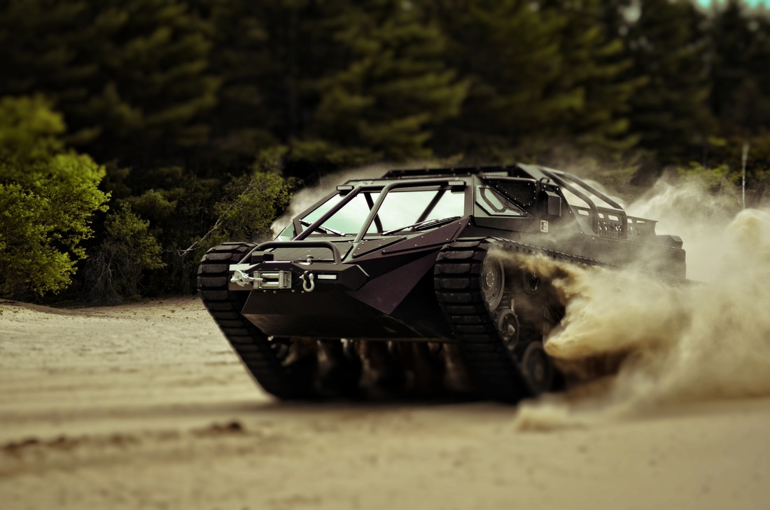 This is What Would Happen if Lamborghini Made Tanks…