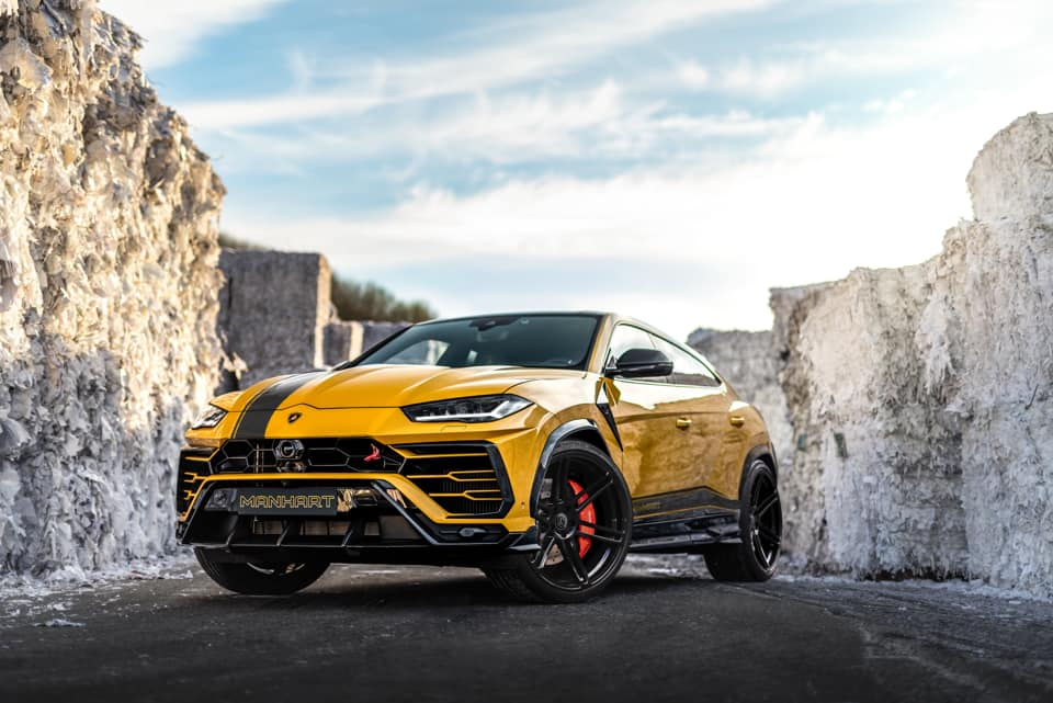Manhart Performance Builds 800+ hp Urus