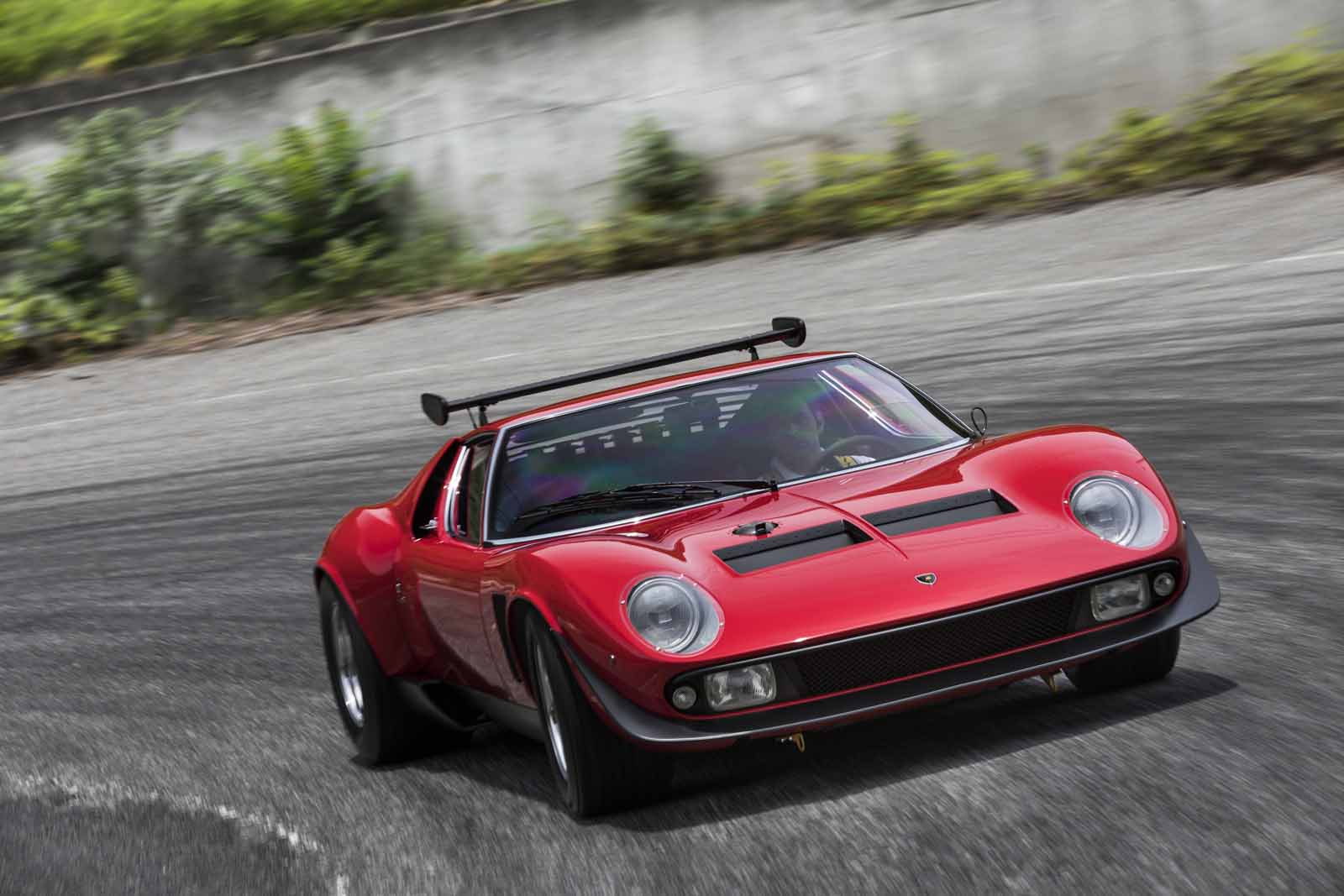 Lamborghini Restores the World's Wildest Miura