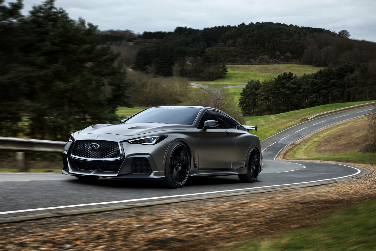 Infiniti Q60 Project Black S Packs F1 Tech That You Can't Have