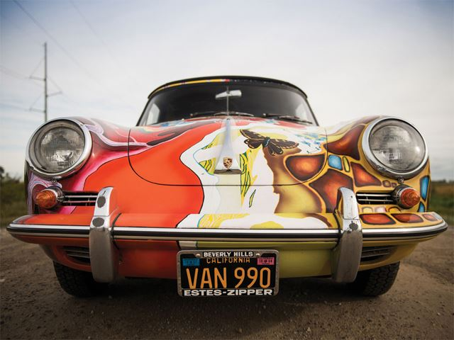 Janis Joplin's Psychedelic Porsche 356 Just Sold For an Out of this World Amount