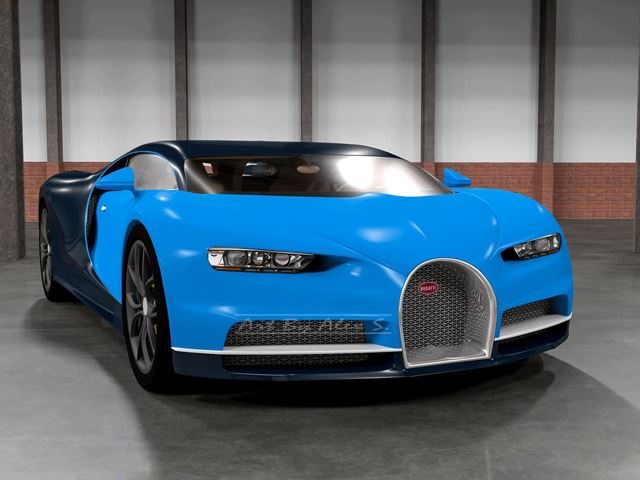 Here's What the New Bugatti Chiron Will Look Like