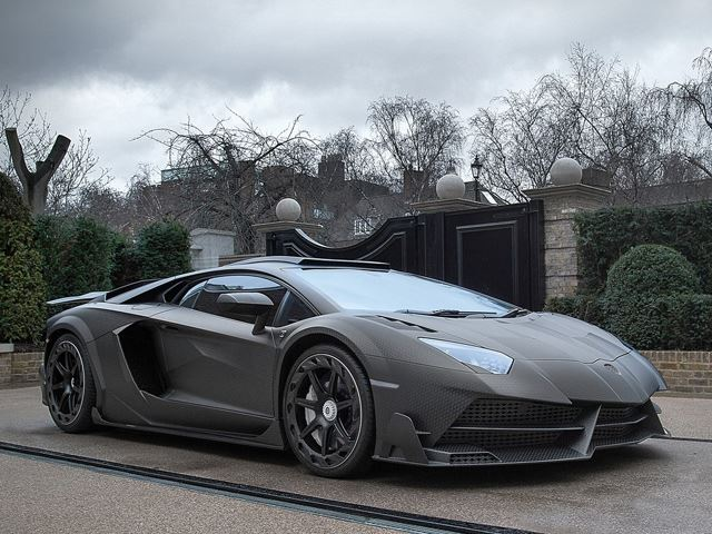This One-Off Carbon Fiber Lamborghini Aventador SV Was Just Made For This Billionaire