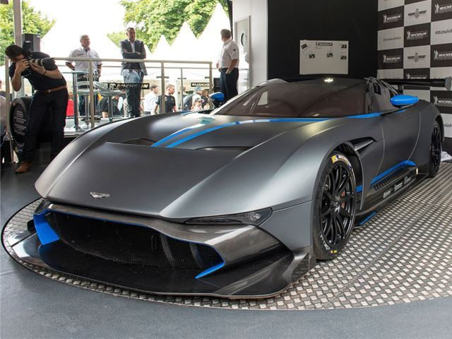 The Aston Martin Vulcan Will Be Street-Legal For 24 Lucky Owners