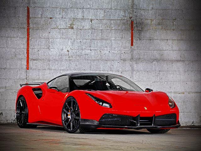 Someone Just Created A 900 Hp Ferrari 488 Gtb